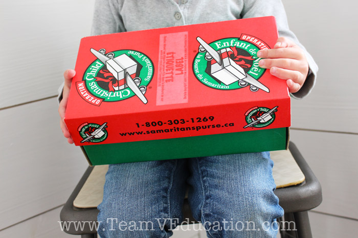 Inspire your children to give to others through the Shoebox Program with Samaritan's Purse!