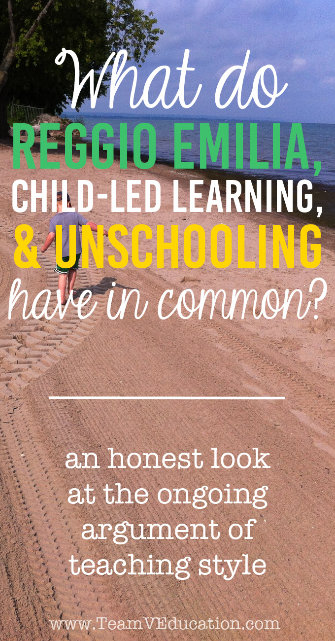 What do Reggio Emilia, Child-Led Learning, and Unschooling have in common? With this common denominator, it doesn't *really* matter which style of learning you use in your homeschooling/alternative education.