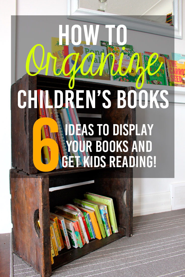 Six Solutions To Organize And Display Children 39 S Books