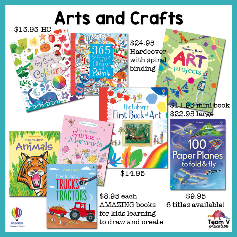 Team V Education - Usborne Books Top Picks - Arts and Crafts ...