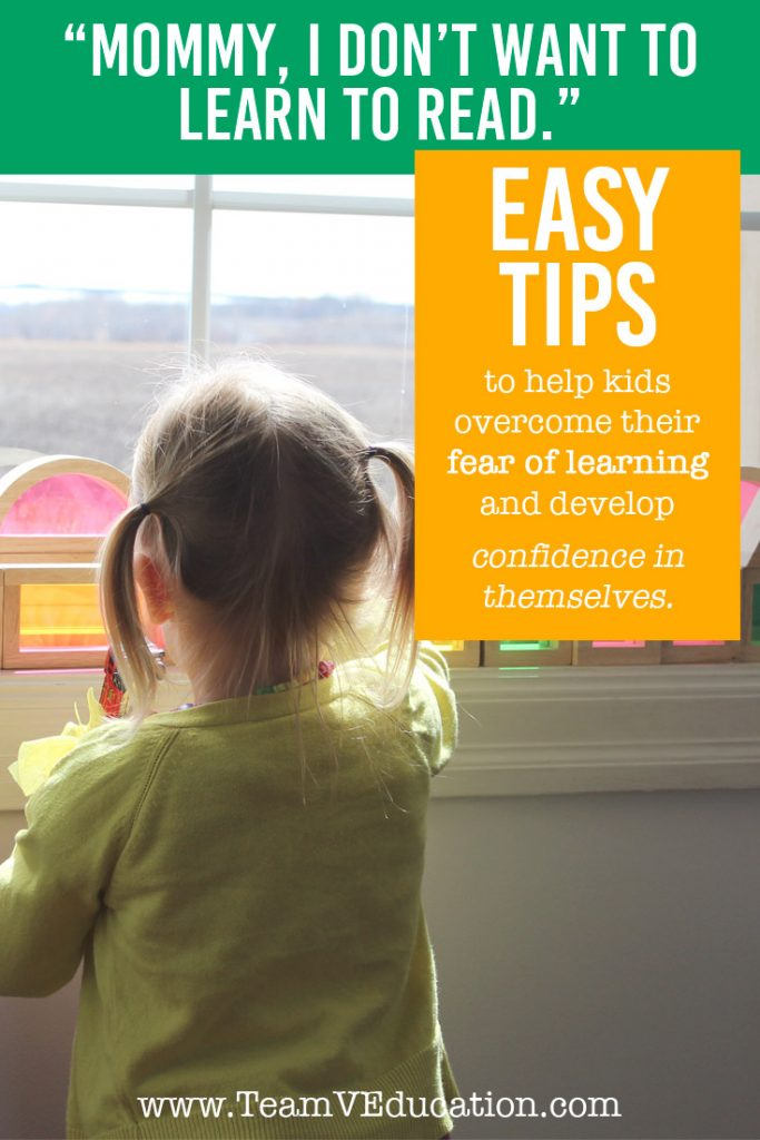 Easy tips to help kids overcome a fear of learning, and develop confidence in themselves.